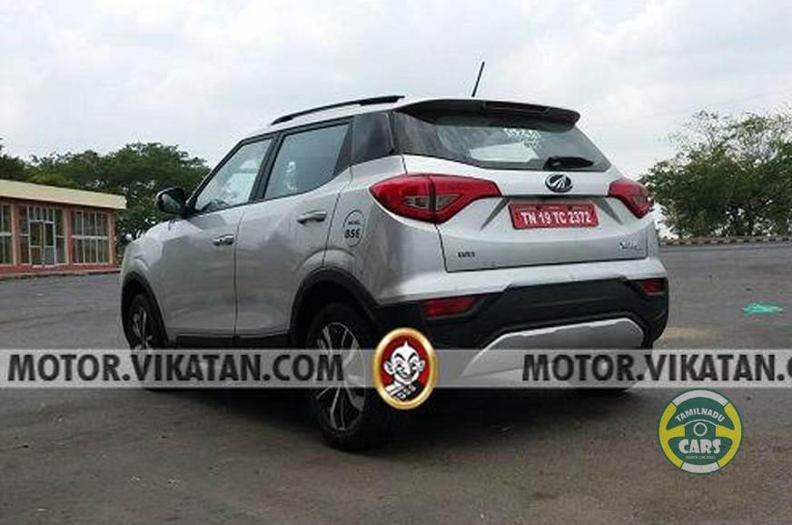 BS-VI Mahindra XUV300 takes shape