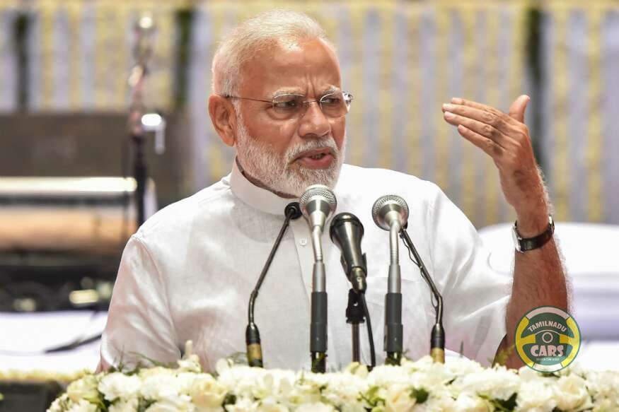 PM Modi Confident That Petrol, Diesel and Electric Vehicles Can Grow Together in India